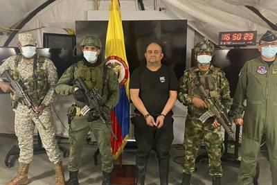'Otoniel,' Colombia's most wanted drug lord, captured in jungle raid